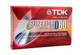 《鉦泰生活館》TDK-D60分鐘 空白錄音帶 10捲/盒
