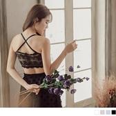《VA598》婚禮系列~可拆襯墊蕾絲細肩帶平口內衣/背心 OrangeBear