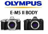 [EYE DC] OLYMPUS OM-D E-M5 Mark II M2 BODY 單機身 2年保固 (12.24期0利率) 元佑公司貨