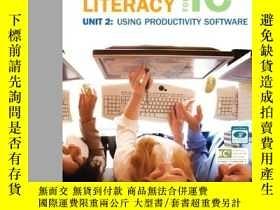 二手書博民逛書店Computer罕見Literacy for IC3 Unit 2: Using Productivity Sof