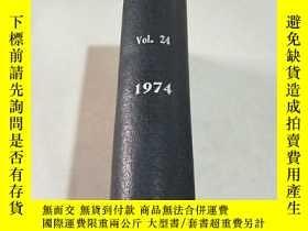 二手書博民逛書店VACUUM罕見VO1.24 1974 真空Y212829 出版