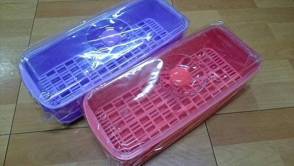 【筷盒NO 60 】902662筷子盒 筷子收納盒 筷籠 可瀝水收納筷盒 餐具收納盒 整理盒【八八八】e網購