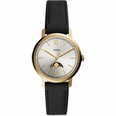 FOSSIL Neely 都會羅馬時尚月相手錶-34mm ES4643