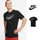 【GT】Nike Dry Tee 黑 短袖T恤 迷彩 運動 休閒 棉質 上衣 短T Logo