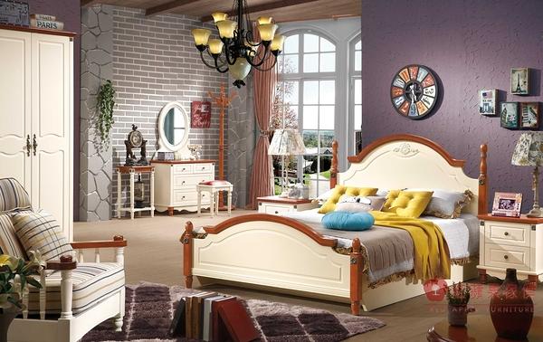 [紅蘋果傢俱 ] 231 北歐系列 單人床 雙人床 床 4尺 5尺 6尺 實木 實體賣場
