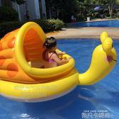 嬰幼兒水上浮床兒童游泳圈水上浮排氣墊充氣游泳池沙池海洋球池QM 依凡卡時尚