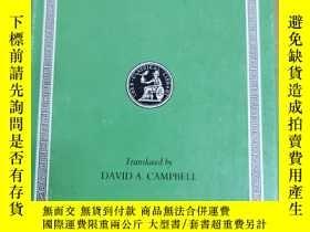 二手書博民逛書店洛布叢書:Greek罕見lyric sappho and alcaeusY367822 略 略 出版1994