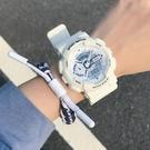 手錶 手表男霧霾藍獨角獸少女風抹茶綠初中學生運動電子表【快速出貨八折鉅惠】