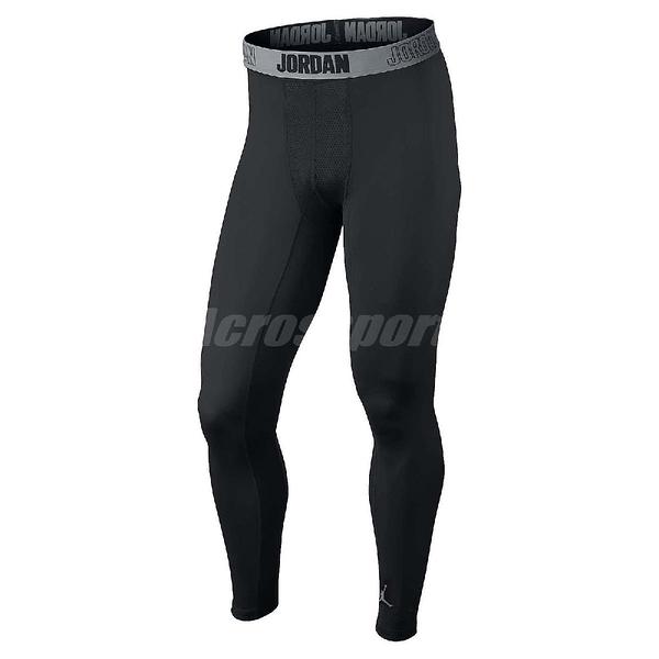 Nike 緊身褲 23 Pro Dry Tight 長束褲 黑 灰 喬丹 男款 【PUMP306】 642348-010