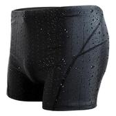 游泳褲男平角五分時尚款泡溫泉男士大碼鯊魚皮速干泳衣裝備【免運】