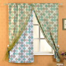 莫菲思 和風幸福遮光窗簾140*160cm