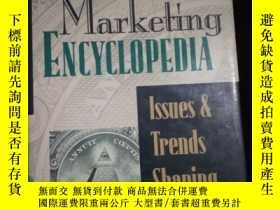 二手書博民逛書店Marketing罕見ENCYCLOPEDIA Issues and Trends Shaping the Fut