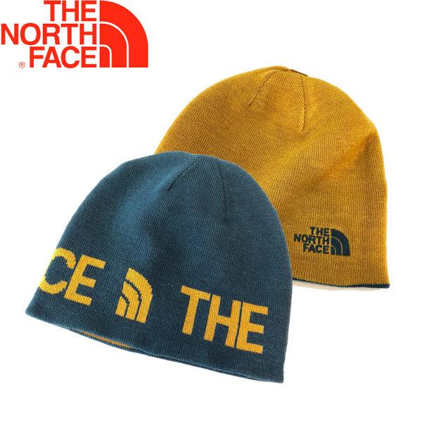 【The North Face 美國 雙面保暖帽《藍》】AKND/毛帽/針織帽/旅遊★滿額送