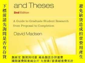 二手書博民逛書店Successful罕見Dissertations And ThesesY256260 Madsen, Dav