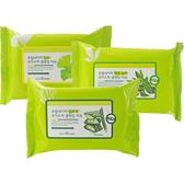 韓國 FROM NATURE 銀杏/蘆薈/綠茶保濕卸妝濕巾(30抽) 3款可選【小三美日】