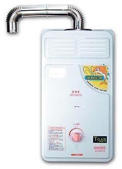 和家戶外強制排氣微電腦熱水器『 HE-1 / HE1 』台灣製造(加贈瓦斯調整器)
