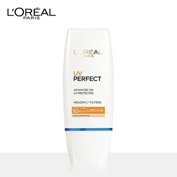 巴黎萊雅完美UV全效防護隔離乳液SPF50 (膚色) 30ml