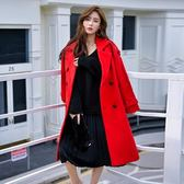 冬韓版新款流行毛呢大衣女中長款赫本加厚呢子學生外套·皇者榮耀3C旗艦店