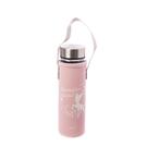 可愛圖案,攜帶方便,環保耐用,建議瓶內不裝盛溫度超過60度之飲品/液體,顧客購買請留意