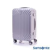 Samsonite新秀麗 23吋 TRU-FRAME PC時尚硬殼鋁框行李箱(炫銀)