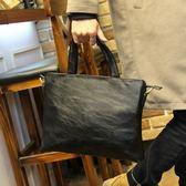 男包 新款潮流公文包男士包商務手提包橫款側背包斜挎休閒背包 黛尼時尚精品