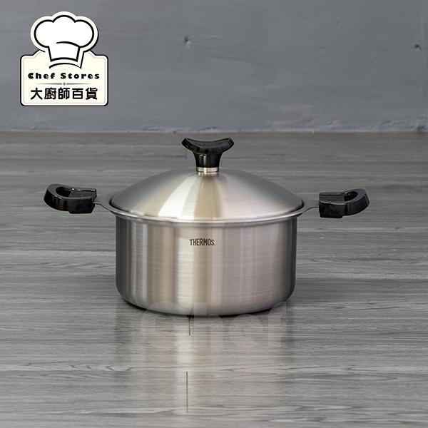 膳魔師316不銹鋼湯鍋22cm健康原味鍋雙耳鍋-大廚師百貨