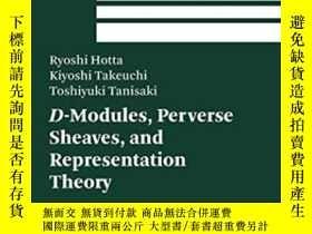 二手書博民逛書店【罕見】D-modules, Perverse Sheaves, And Representation Theor