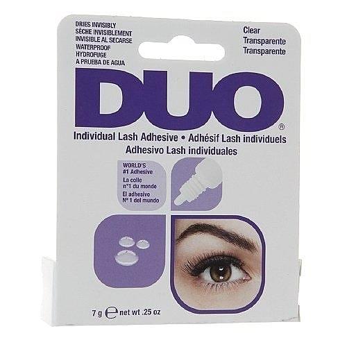 Duo 植睫毛 種睫毛黏膠 透明膠 (防水) 0.25oz / 7g (紫盒) 美國進口 【彤彤小舖】