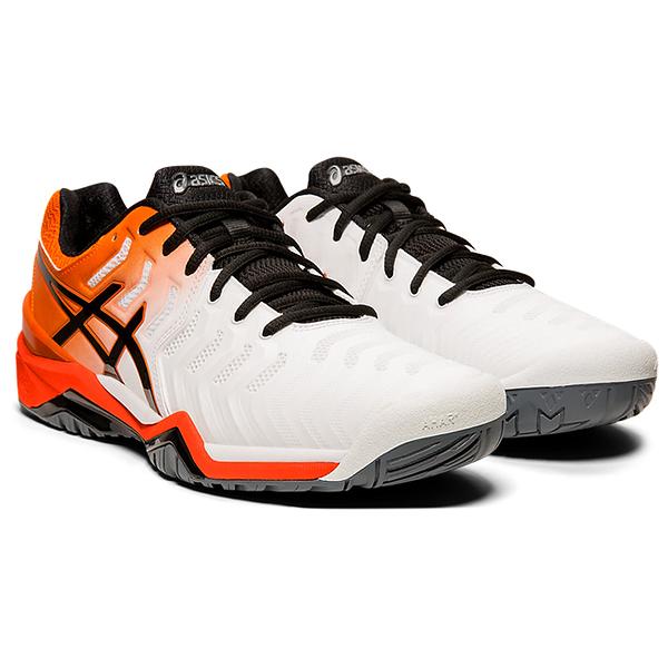 ASICS 19FW 男網球鞋 Resolution 7系列 E701Y-100 零碼出清不送贈品【樂買網】