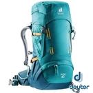 【德國 deuter】FOX拔熱背包 30+4L『湖藍/藍』3611121 登山.露營.後背包.手提包.雙肩背包.旅遊