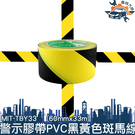 《儀特汽修》PVC地板膠帶黑黃斑馬線警戒...