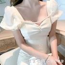 高級感性感連衣裙高端裙子氣質輕奢名媛風女夏法式晚宴會小眾禮服 美眉新品