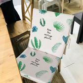 布藝餐椅套罩家用防滑加厚防污防水棉麻【極簡生活館】
