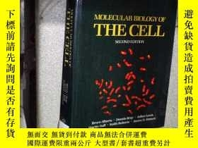 二手書博民逛書店MOLECULAR罕見BIOLOGY OF THE CELL S