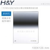 EGE 一番購】H&Y 二代GND Reverse 反向 玻璃方形漸層鏡片 ND0.6 (ND4) 德國肖特玻璃 Z系列【公司貨】