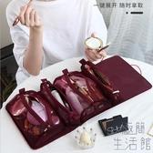 化妝包女便攜大容量收納袋可愛日系旅行洗漱品【極簡生活】
