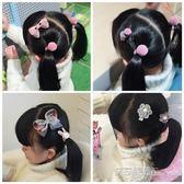小孩發夾發飾潮兒童頭飾女孩新款公主可愛女童韓國萌萌噠發卡盒裝 艾莎嚴選