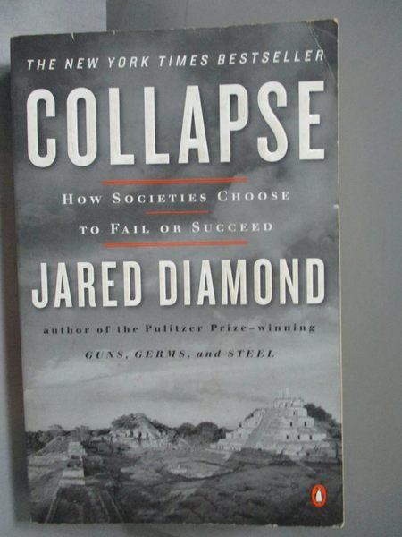 【書寶二手書T6/社會_OFV】Collapse-How Societies Choose to Fail or Suc