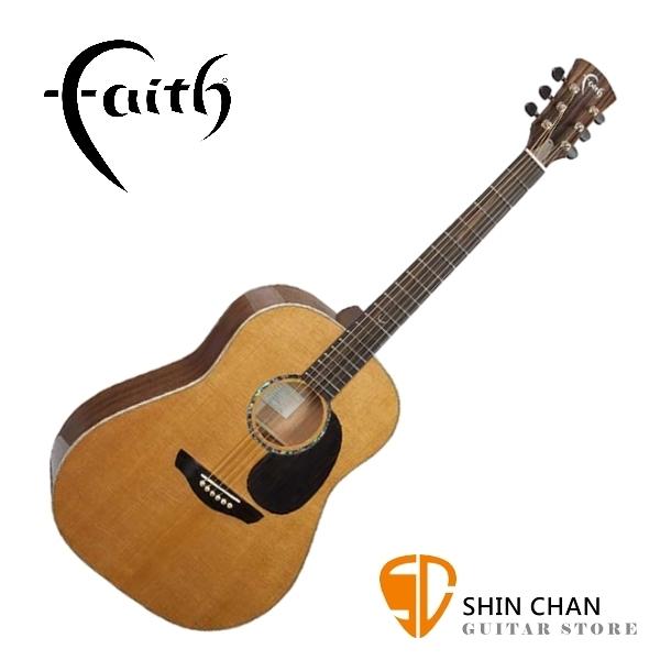 Faith 英國名牌 FG1R-NPX 41吋 全單板 民謠吉他 附贈吉他硬盒 CASE 印尼製【型號:FG1R-NPX】