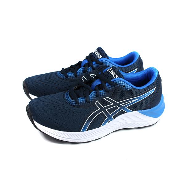 亞瑟士 GEL-EXCITE 8 GS 運動鞋 慢跑鞋 童鞋 藍色 大童 1014A201-411 no525