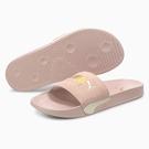 PUMA Leadcat FTR Suede Classic 女鞋 拖鞋 休閒 基本款 麂皮 粉【運動世界】37227709