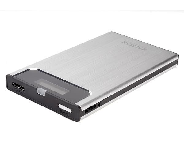 【台中平價鋪】全新 ZALMAN ZM-VE300 硬碟外接盒 銀 2.5吋 USB3.0 虛擬磁碟 可做為開機裝置