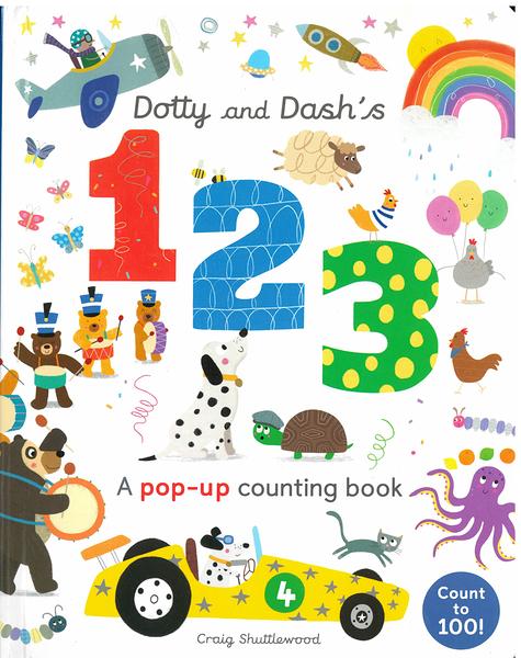 【數字學習概念書】DOTTY & DASH'S 123 /小小立體書《主題:數字》
