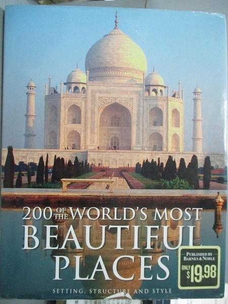 【書寶二手書T7/旅遊_QJQ】200 of the World s Most Beautiful Places_Bar