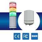 LED警示燈 NLA50DC-3B6D-RYG IP53 2.4W DC 24V 積層燈/三色燈/多層式/報警燈/適用機械自動化設備