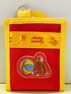 【震撼精品百貨】Curious George _好奇的喬治猴 ~日本喬治猴 黏式皮夾/短夾-紅#01838