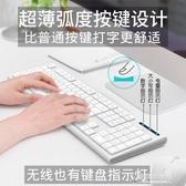無線鍵盤鼠標套裝靜音超薄筆記本台式機電腦輕薄無限游戲辦公家用 東京衣秀 YYP