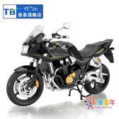 俊基1:12本田1100XX摩托車玩具車模型 仿真合金油箱 原廠跑車