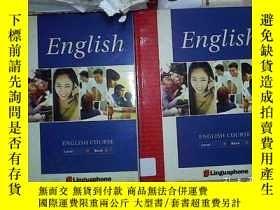 二手書博民逛書店ENGLISH罕見COURSE Level4 Book 1+Book 2 英語四級第一冊+第二冊(678)Y2