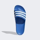 ADIDAS ADILETTE AQUA [F35541] 男女 涼鞋 拖鞋 雨鞋 水鞋 海灘 游泳 戲水 愛迪達 寶藍